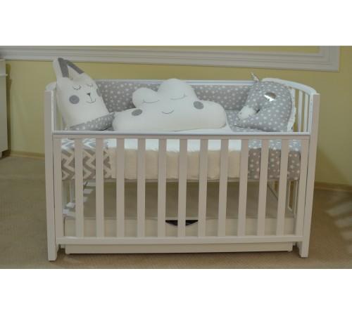 show baby  Постель с подушками серый