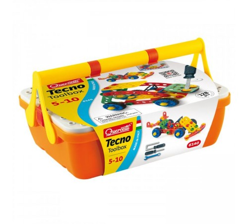 quercetti 6140 Набор инструменты tecno toolbox