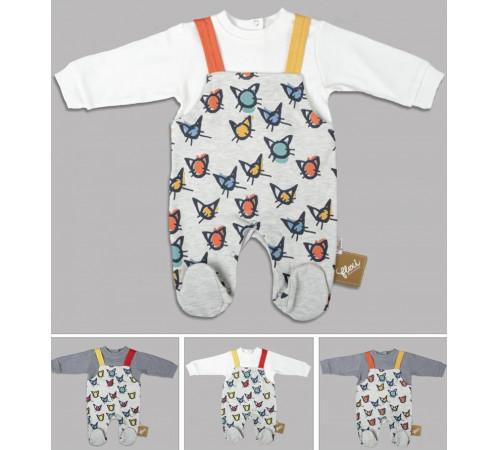 Одежда для малышей в Молдове flexi 213805 Комбинезон (56-62-68 см.) в асс.