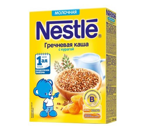 Детское питание в Молдове Каша молочная nestle гречневая с курагой с 5 мес. 220 г