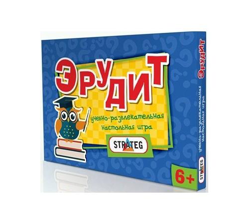 """strateg leo 249 Настольная игра """"Эрудит"""""""