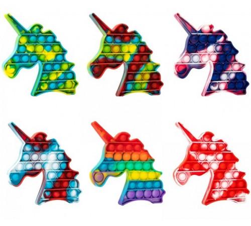 """Детскиймагазин в Кишиневе в Молдове pop it & flip Игрушка разноцветная """"Единорог"""" в асс."""