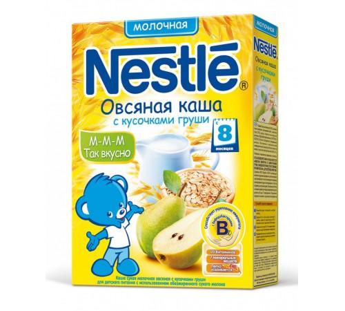 nestle Каша овсяная молочная с кусочками грушы 250 гр. (8m+)