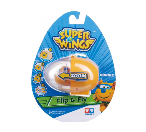 "super wings eu710662 Игровой набор ""flip n fly - donnie"""