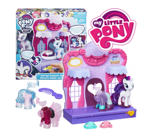 my little pony b8811 бутик Рарити в Кантерлоте