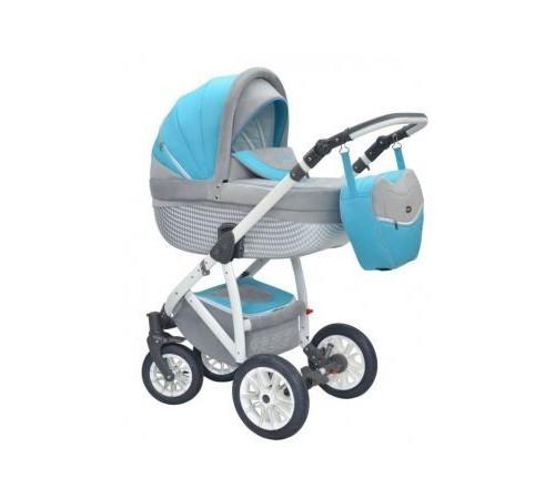 Детские коляски в Молдове wiejar Коляска  2в1 twist gd 06 серо-голубая