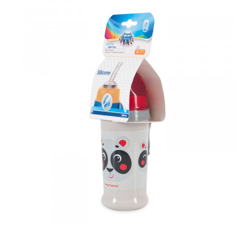 canpol 56/510 pahar anti-varsare cu pai (350 ml.) 1 buc. 12+