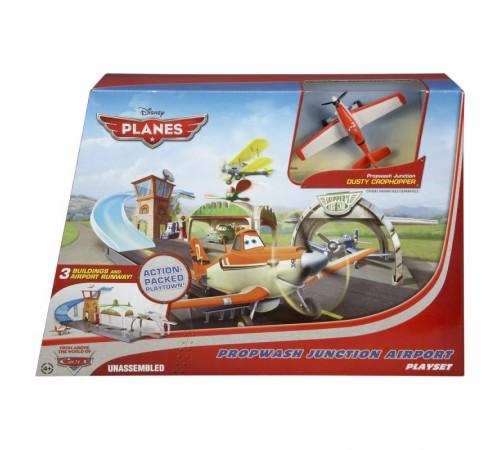 """fp y0995 mattel Игровой набор """"Аэродром"""" из мультфильма """"Самолеты"""""""