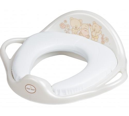 """tega baby Сиденье для унитаза """"Мишка"""" ms-020-118 жемчуг"""