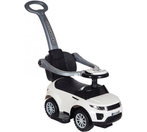 baby mix ur-hz614w white Машина детская с ручкой