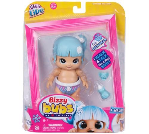 """Детскиймагазин в Кишиневе в Молдове little live pets 28470 Интерактивная куколка bizzy bubs """"Снежный Лучик"""""""
