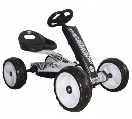 baby mix ur-etk01-1 Машина на педалях белый