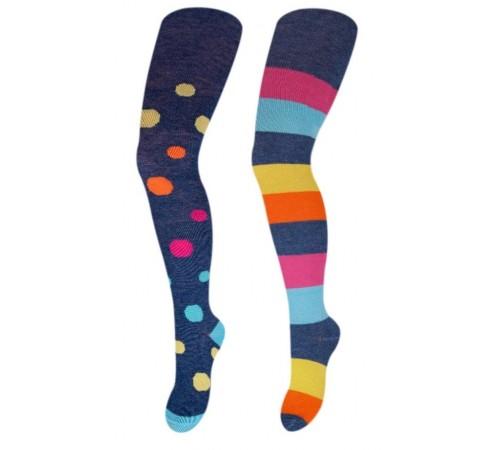 yoclub ra-08q ciorapi pentru fete (m. 128-134) în sort.