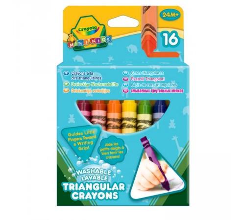 crayola 52-016 Смываемые Карандаши triangular (16 шт.)