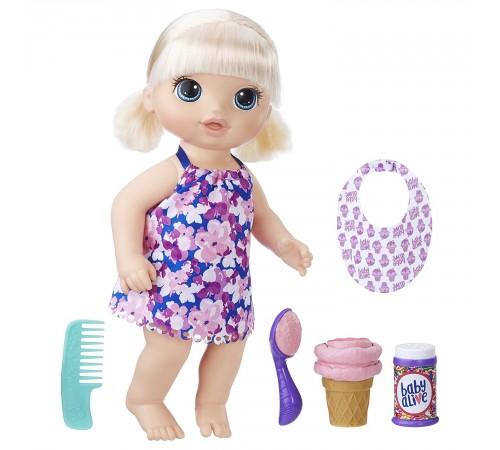 """baby alive c1090 Кукла """"Малышка с мороженым"""""""