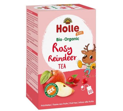 holle bio organic ceai de fructe pentru copii rosy reindeer (de la 3 ani) 20 plicuri