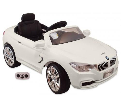 "baby mix ur-z669r Машина на аккумуляторе ""bmw"" белый"
