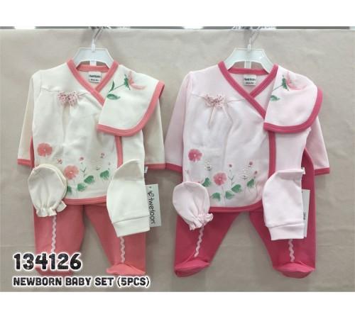 Одежда для малышей в Молдове twetoon baby 134126 Комплект из 5 единиц для новорожденных