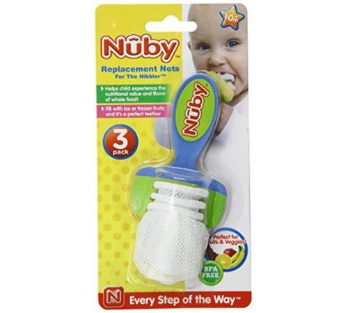 nuby id5362 Сменные сеточки для ниблера (3 шт.)