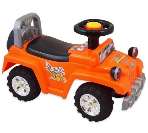baby mix ur-hz553 Машина-толокар красная/оранжевая