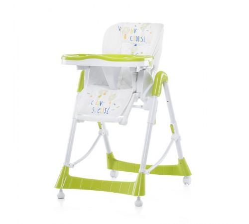 chipolino стул для кормления 01504li comfort plus lime