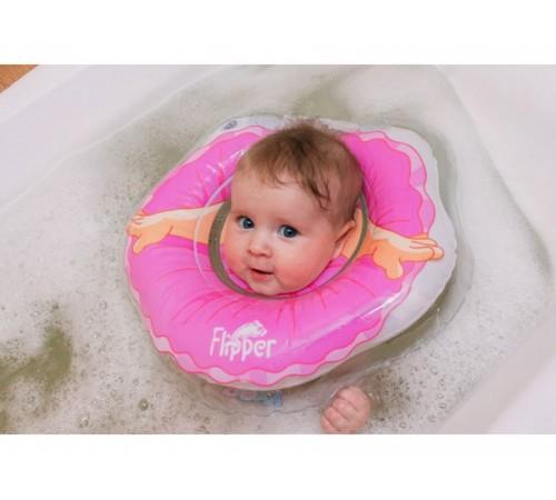 "flipper roxy Круг для купания новорожденных fl007 ""Балерина"""