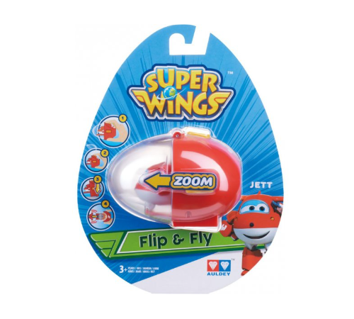 "super wings eu710661 set de joc ""flip n fly - jett"""