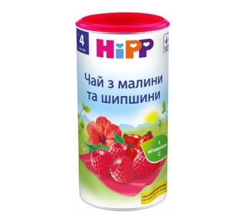 hipp 3815 ceai pentru copii din zmeură şi măcieş 200 gr.(4+)