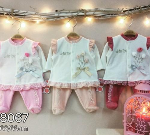 Одежда для малышей в Молдове twetoon baby  Комплект велюровый 2ед. (штанишки и батник) 118067