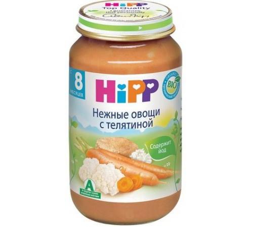 hipp 6413 legume cu carne de vită 220 gr. (8m+)
