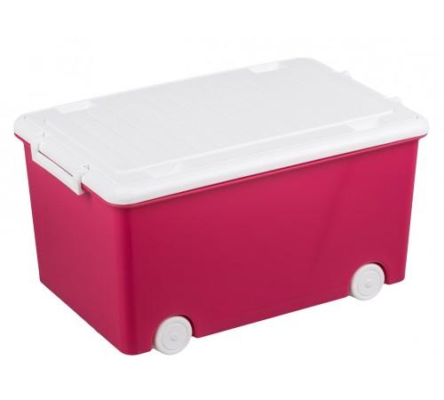 tega baby container pentru jucarii junior tg-179-104 roz