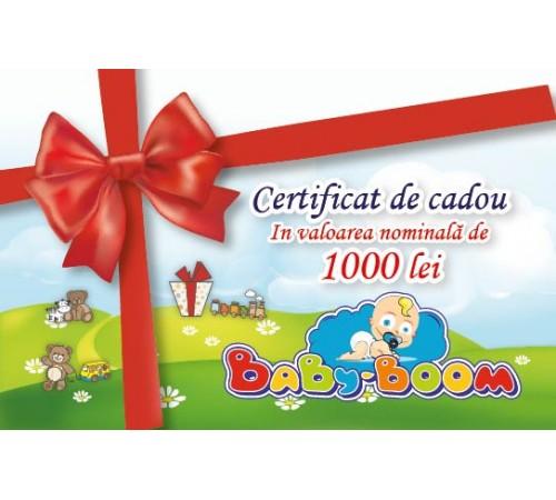 Jucării pentru Copii - Magazin Online de Jucării ieftine in Chisinau Baby-Boom in Moldova Подарочный сертификат 1000