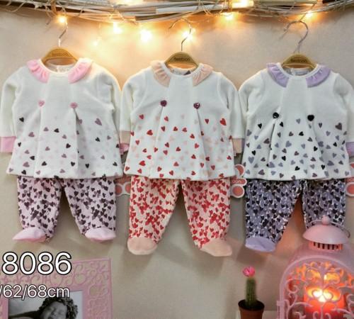 Одежда для малышей в Молдове twetoon baby  Комплект велюровый 2ед. (штанишки и батник)118086