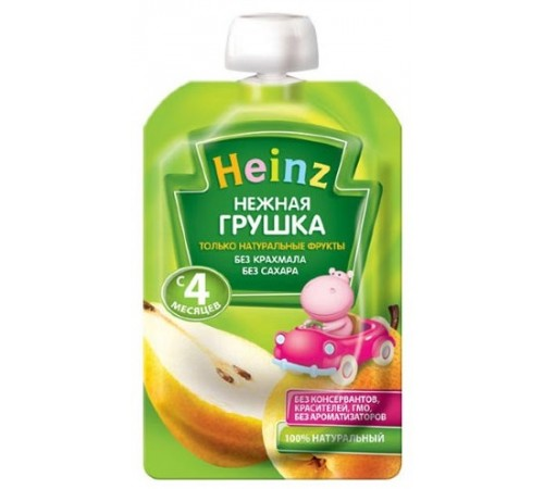 Детское питание в Молдове heinz Пюре Нежная грушка 100 гр. (4m+)