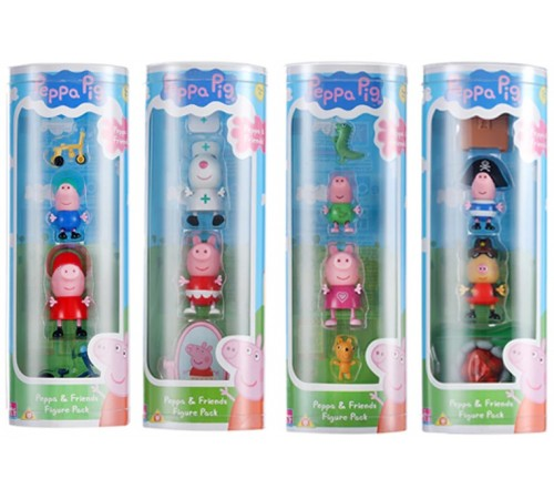"""peppa pig 06147 set de joc """"peppa cu accesorii"""" în sort."""