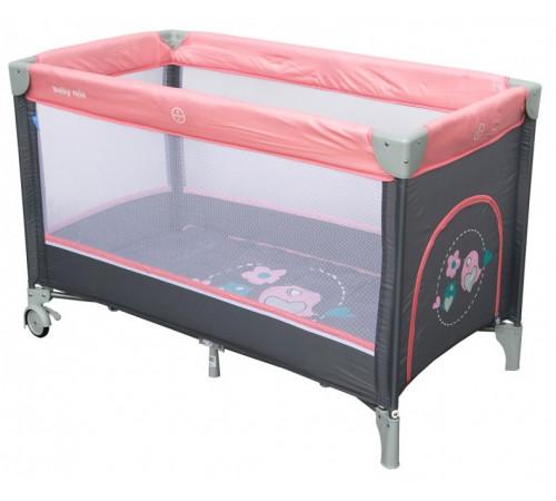 "baby mix hr-8052-186 Țarc pentru copii ""păsărică"" roz"