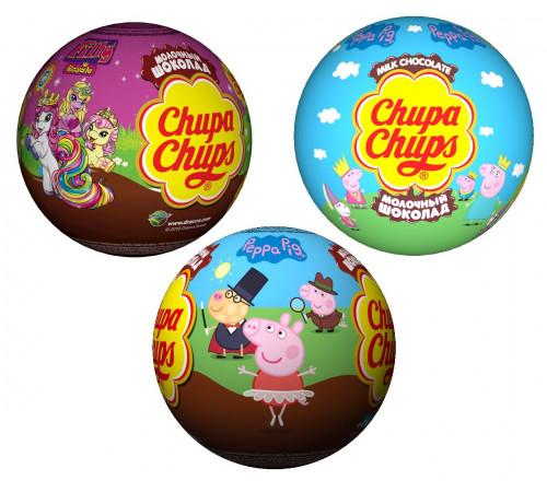 chupa chups Шоколадный шар с игрушкой (20 гр.) в асс.