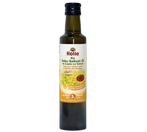 holle bio organic ulei alimentar pentru copii (4 m +) 250 ml.