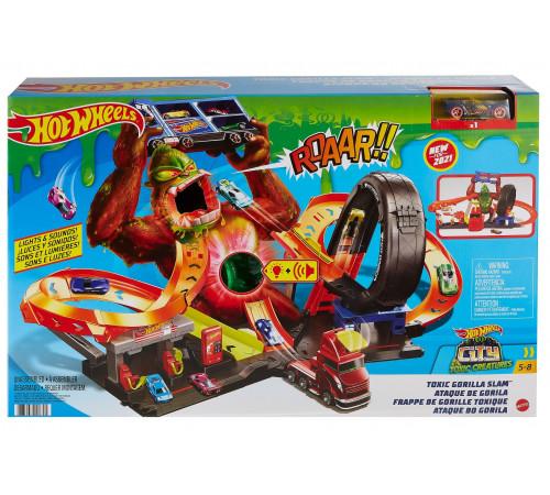 """Детскиймагазин в Кишиневе в Молдове hot wheels gtt94 Игровой набор """"Нападение токсичной гориллы"""""""