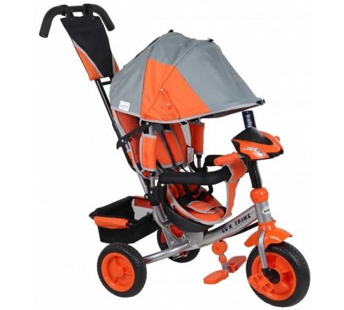 baby mix ur-xg6519t16g/o Трицикл lux серо-оранжевый