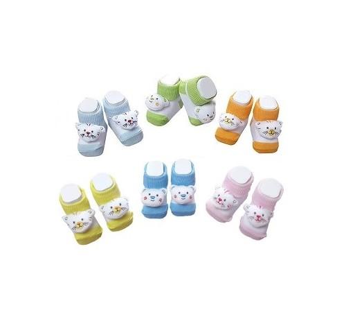 Одежда для малышей в Молдове mini damla 42425 Носочки - пинетки в асс.