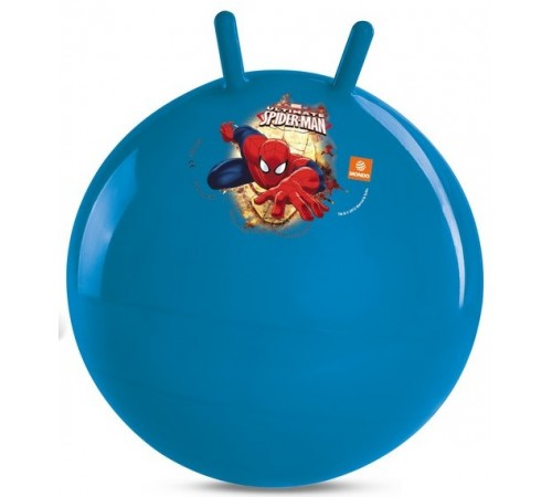 """Детскиймагазин в Кишиневе в Молдове mondo 6961m Мяч прыгун с рожками """"Человек-Паук"""""""
