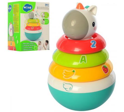 "hola toys 3136 piramida rolypoly ""unicorn"""