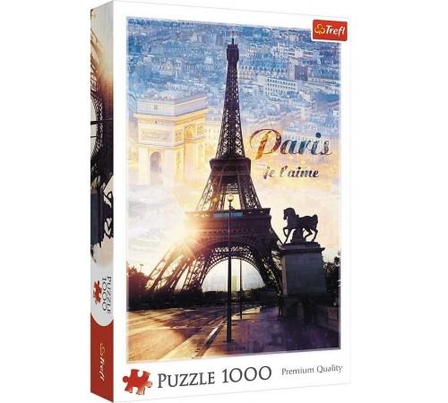 "trefl 10394 Пазлы ""Париж на рассвете"" (1000 эл.)"
