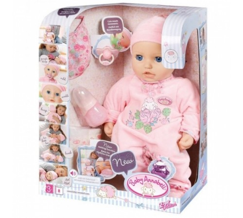 zapf creation 794401 Интерактивная кукла baby annabell (43 см.)