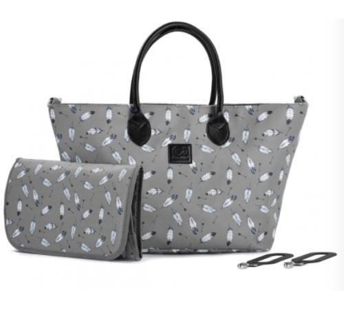 kinderkraft Сумка для мамы mommy bag серый