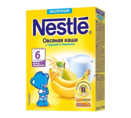 Детское питание в Молдове Каша молочная nestle овсяная с грушей и бананом с 6 мес. 220 г