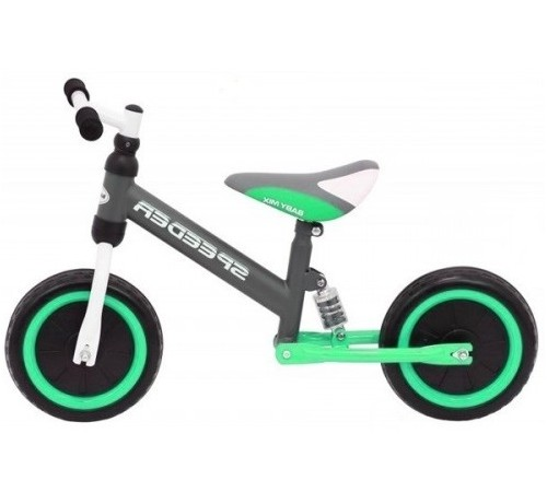 "baby mix ur-et-p02-1 run bike 10 ""speeder"" verde"
