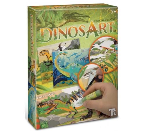 """Jucării pentru Copii - Magazin Online de Jucării ieftine in Chisinau Baby-Boom in Moldova dinosart 15011 set pentru creativitate """"sand & foil art"""""""