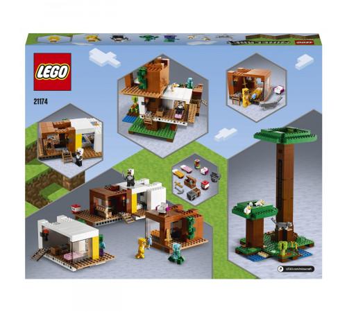 """lego minecraft 21174 Конструктор """"Современный домик на дереве"""" (909 дет.)"""